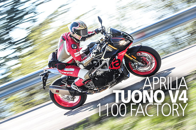 Aprilia Tuono V4 1100 Factory Review