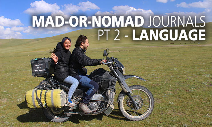Mad or Nomad Journals: Part 2 - Languages