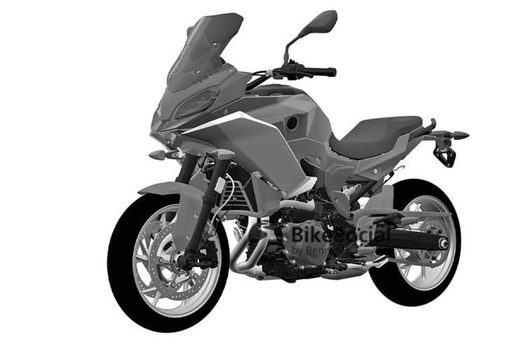2020 Bmw F850xr Betrayed By The Firm S Own Design Patent