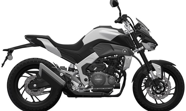 Future Haojue 300 twin has Suzuki DNA and Euro-friendly design
