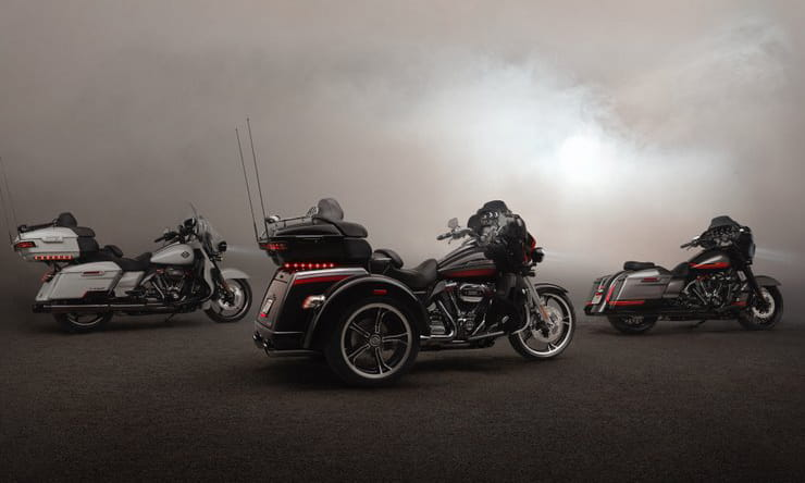 2020 Harley-Davidsons announced