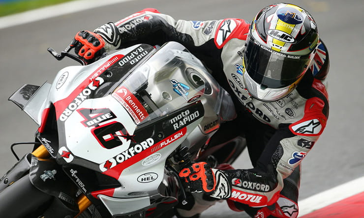 "Tommy Bridewell was so desperate to win at Cadwell Park he was ""100% willing to crash"""