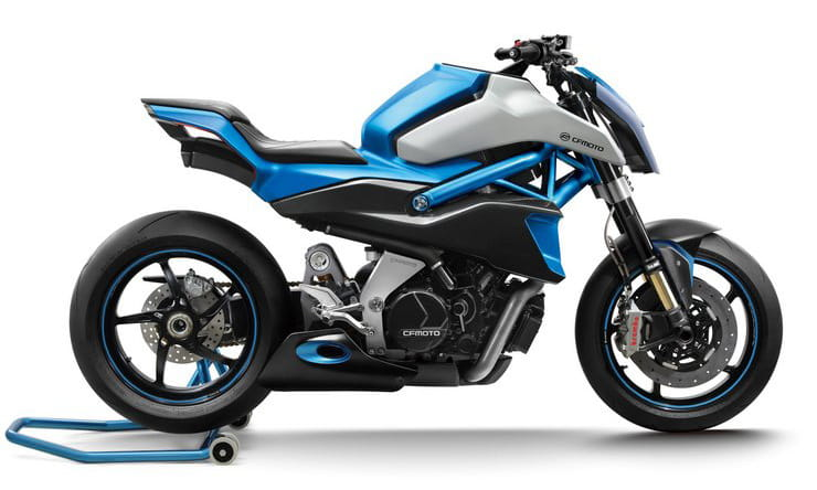 CFMoto's 1000cc V-twin closer to production