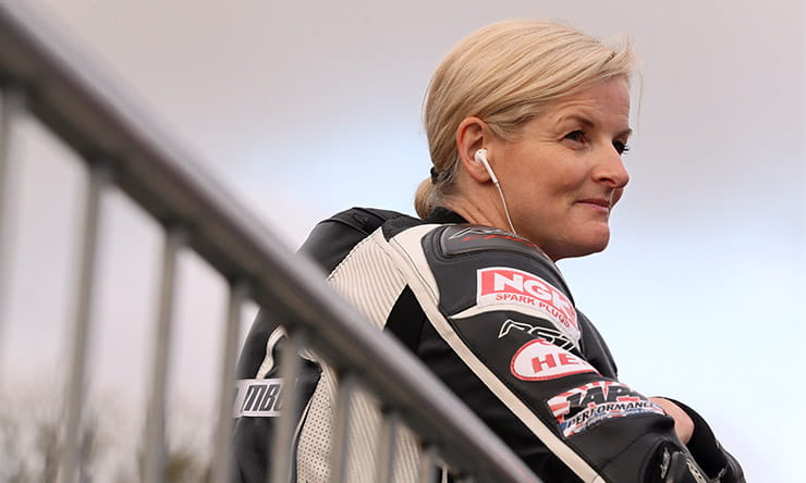 Maria Costello MBE chats to BikeSocial at the Classic TT