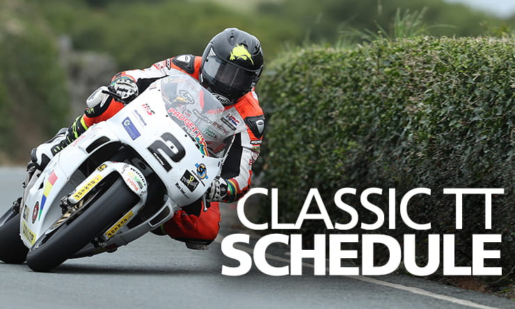 Classic TT Schedule 2019【 Including full race timetable 】