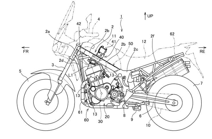 Honda working on direct-injection for Africa Twin