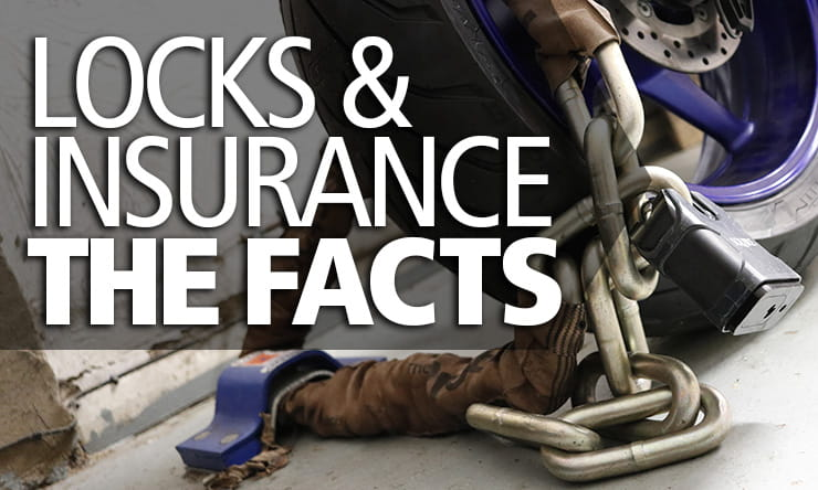 The truth about the best motorcycle locks and your insurance