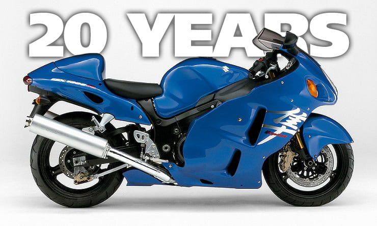 Game Changer: 20 years of Suzuki's Hayabusa