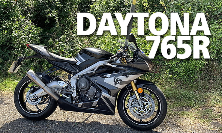 Triumph Daytona Moto2 765 road and track test with John McGuinness