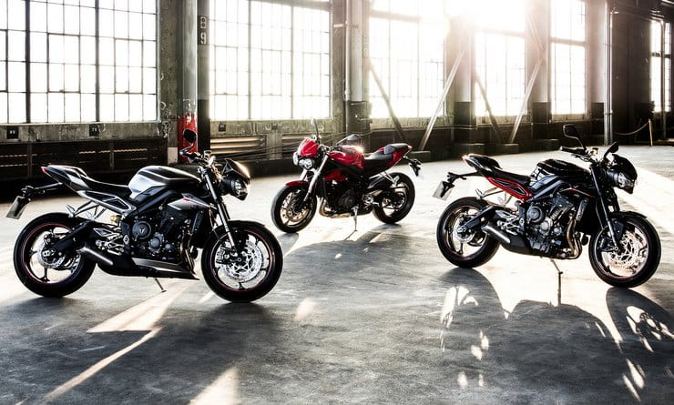 Triumph Street Triple getting updates for 2020