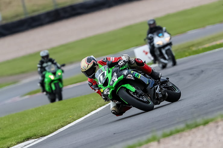 BSB champion, Leon Haslam, teaches for three track sessions while we ride the 2019 Kawasaki ZX-6R, as the manufacturer encourages others to try it.