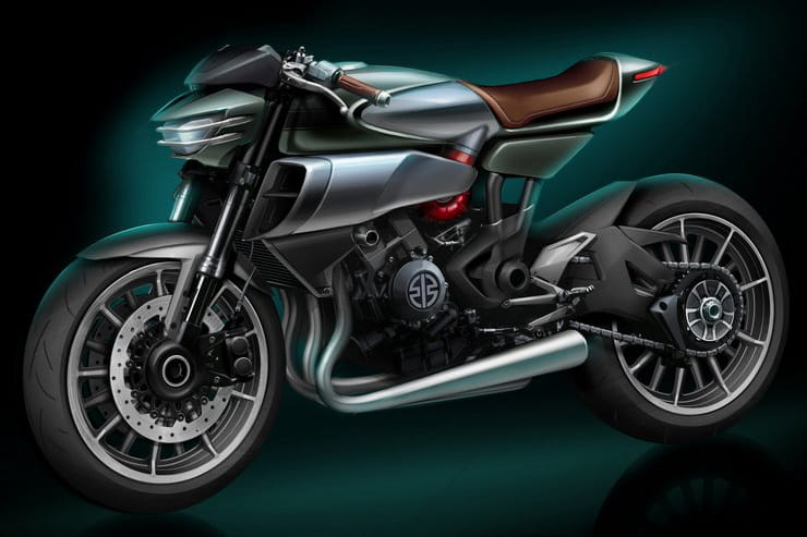 What is Kawasaki planning for the Meguro brand?
