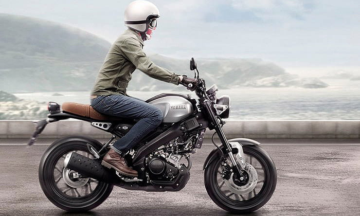 Yamaha XSR155 hints at future XSR125 retro