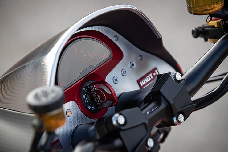We ride the heavily revised, 2032cc ARCH KRGT-1 in California.