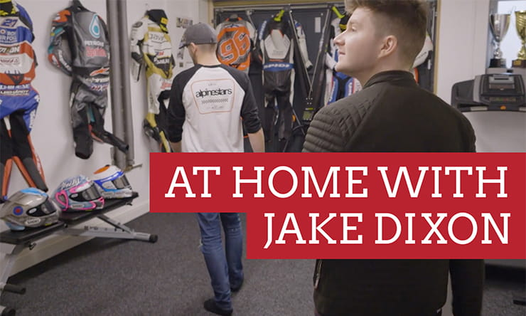 It's not often you catch a Grand Prix racer at home - it's even rarer for one to let you in for a nose around. Thankfully for us Moto2 rider, Jake Dixon, did exactly that.