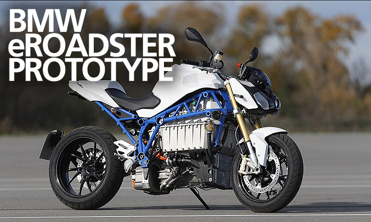 BMW eRoadster Prototype Electric Bike - Ridden