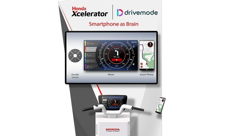 Honda and Drivemode-developed Smartphone as Brain tech coming to CES next year