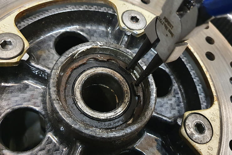 The wheel bearings on your motorcycle are vital to good handling and safety, so knowing how to check, remove and replace them is vital. We show you how…
