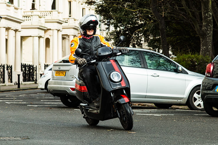 The 50mph electric scooter with a 66-mile range for £73 per month. Commuting just got interesting.