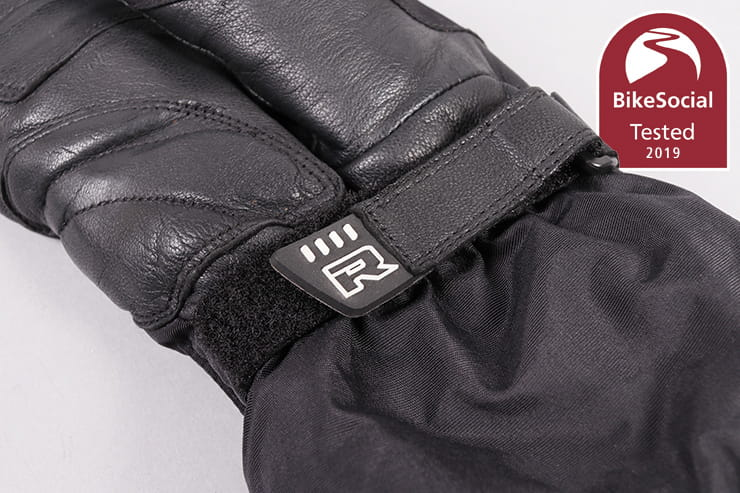 Richa's 'lobster claw' Gore-tex winter glove keeps your hands comfy, warm and dry too