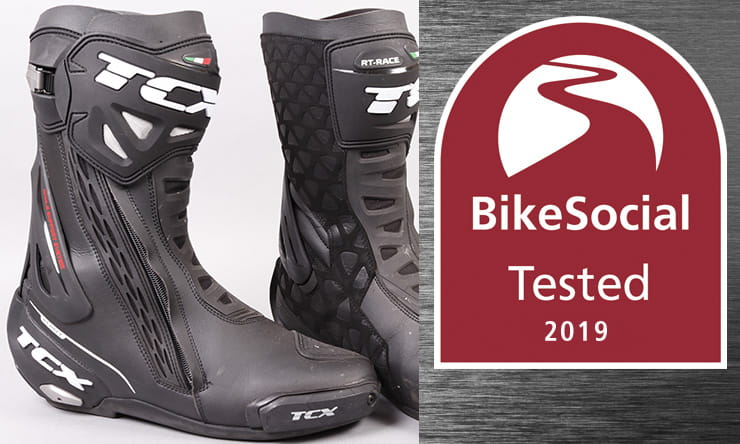 Full review of the TCX RT-Race – are these the best sport bike and track motorcycle boots?