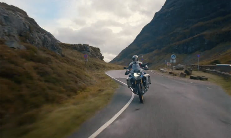 Three Peaks Challenge by BMW F850GSA