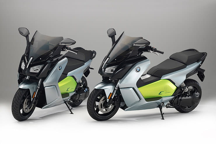 Wireless charging for future BMW electric bike