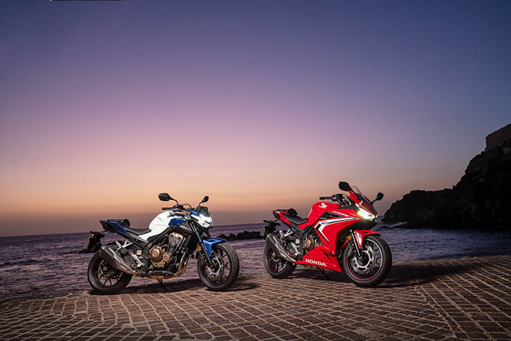 Motorcycle Windshield For HONDA CBR500R 2016 2017 Black