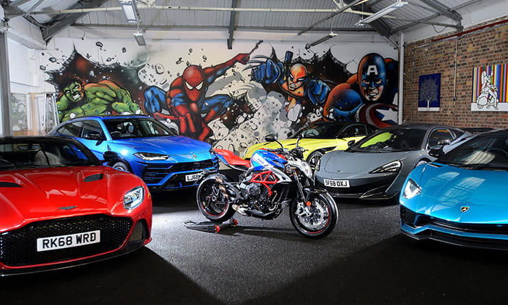 Supercar club membership includes free £16k MV Agusta