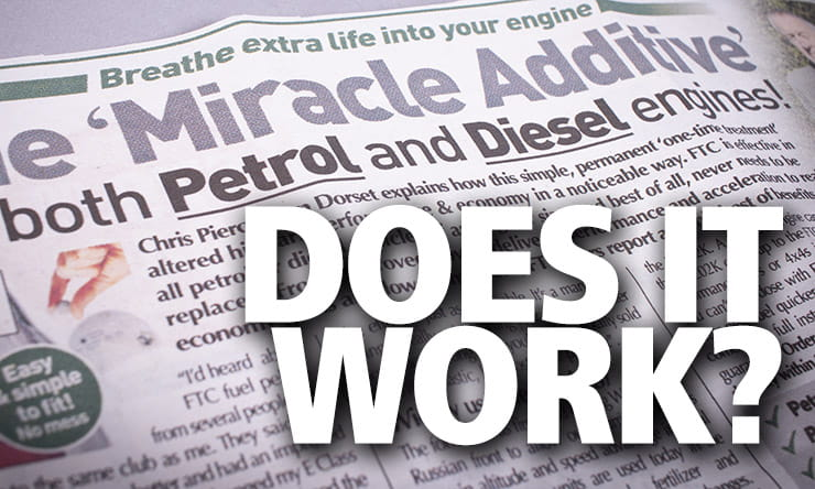 Does a miracle fuel additive really work?