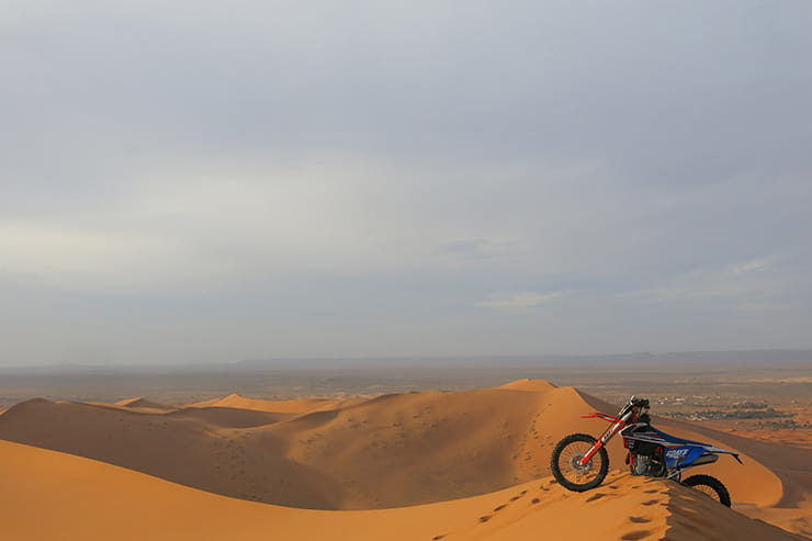 Mick Extance on the Dakar. Adventure biking's biggest challenge?