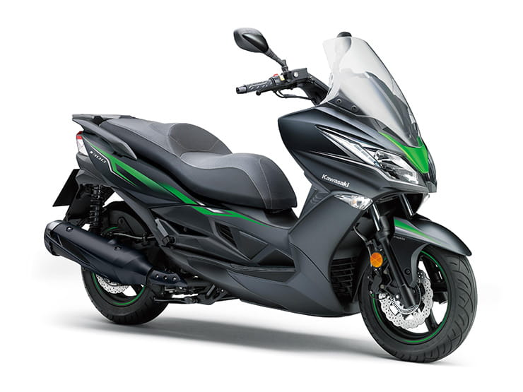 Kawasaki J300 - Top 10 300-400cc scooters for 2019
