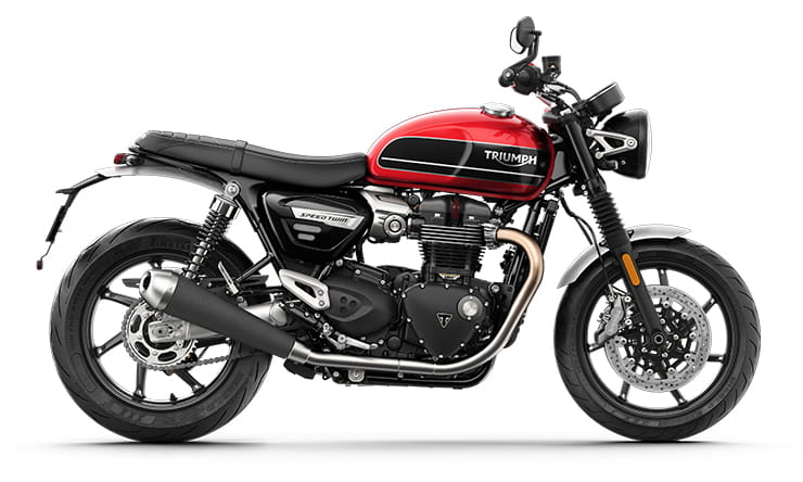 New Speed Twin 1200 Red