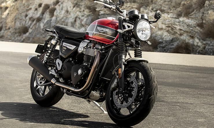 New triumph SPEED TWIN spec