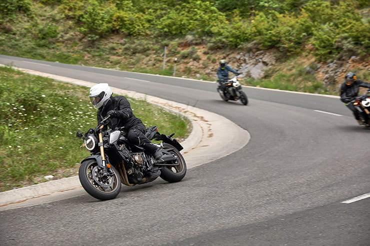 500 miles on Honda's 2019 CB650R