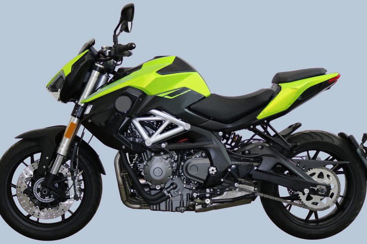 Leaked design pictures show the revamped Benelli TNT600 months before its official unveiling