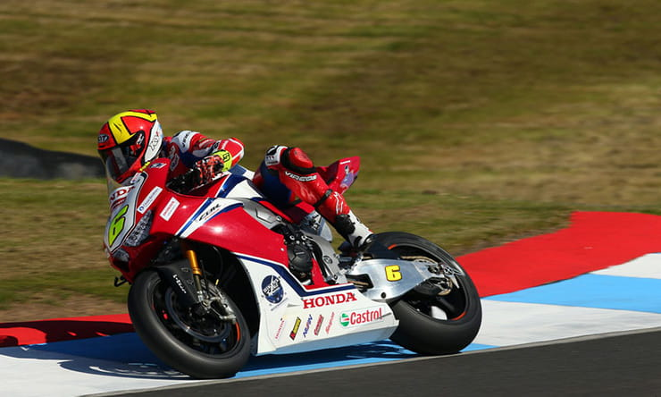 BSB2019 - Xavi Fores Knockhill Interview Honda