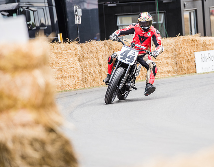 Harley-Davidson XG750R at Goodwood Festival of Speed 2019