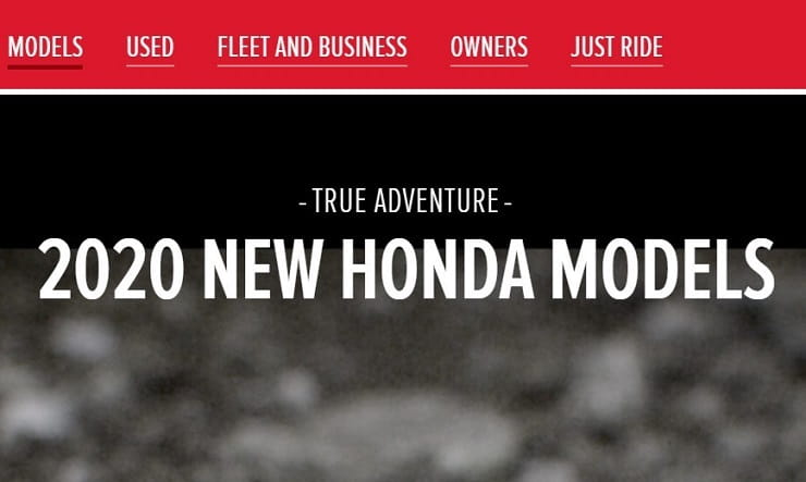 The teasing begins for Honda's revamped 2020 Africa Twin