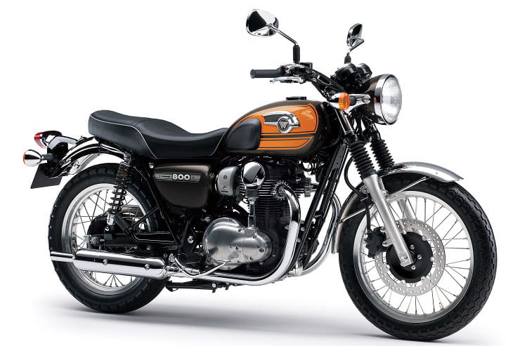 Third Kawasaki W800 model for 2020