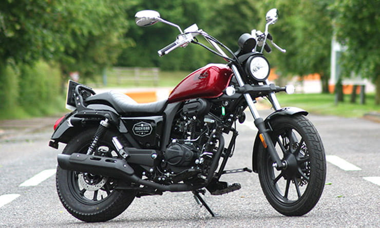 Lexmoto Michigan 125 tested – an economical commuter bike with Harley-Davidson Sportster styling