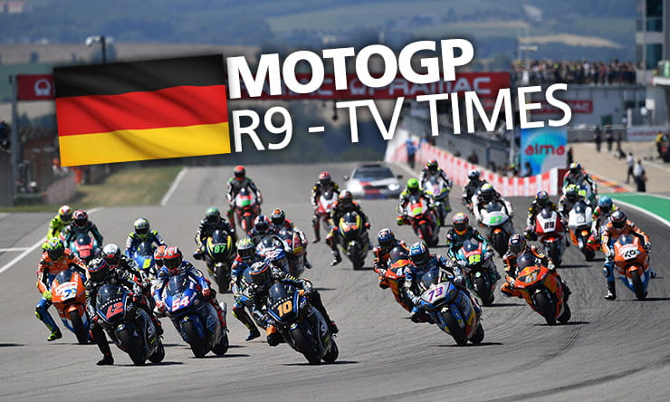 MotoGP [ Sachsenring ] - Weekend schedule & TV times