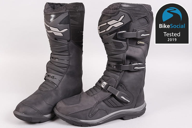 Tested: TCX Baja waterproof adventure motorcycle boots review