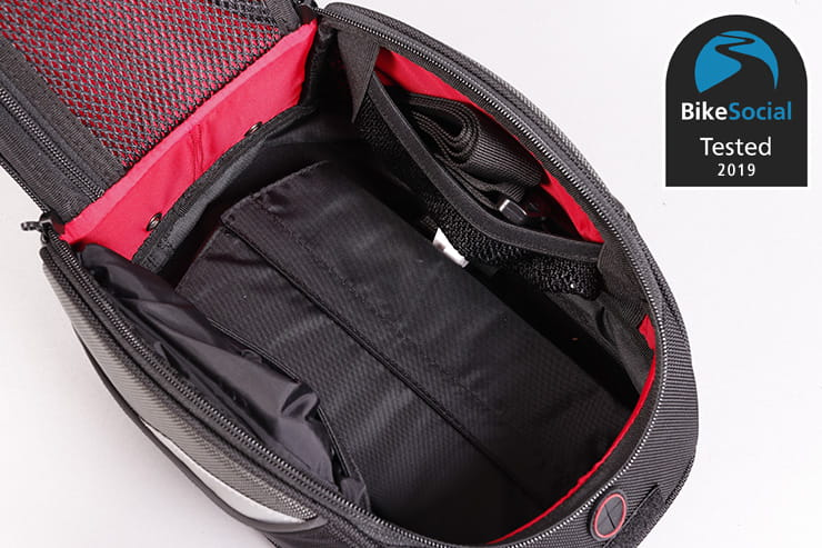 Tested: SW Motech EVO Daypack tank bag review