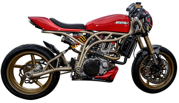 Top 10 2019 cafe racers - CCM Spitfire Carl Fogarty