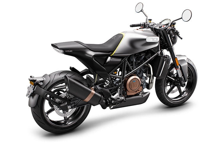 Top 10 2019 cafe racers - Husqvarna Vitpilen 701