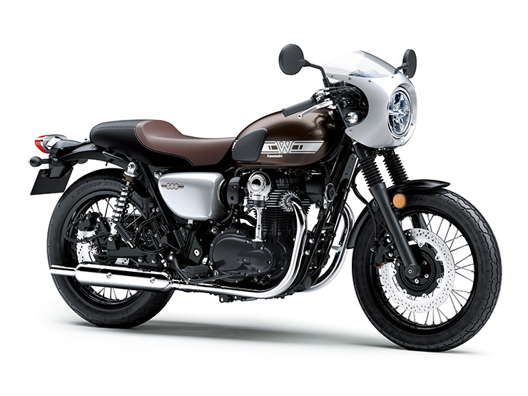 Top 10 2019 cafe racers - Kawasaki W800 Cafe