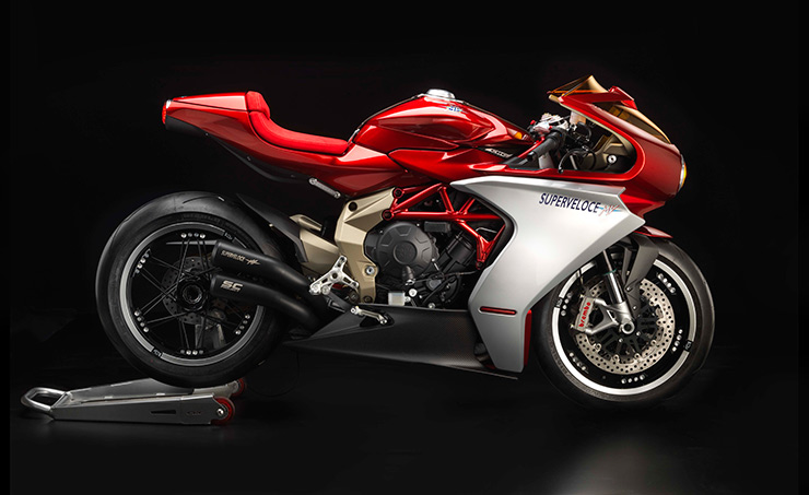 Top 10 2019 cafe racers - MV Agusta Superveloce 800