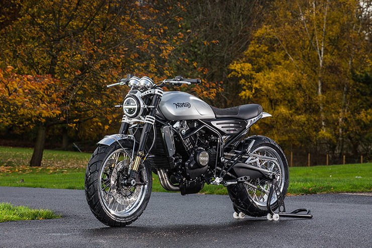 Top 10 2019 cafe racers - Norton Atlas Nomad