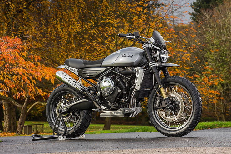 Top 10 Scramblers (2019): Norton Atlas Ranger